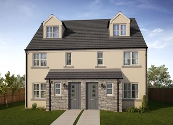 "Thumbnail 4 bedroom town house for sale in ""The Bothwell."" at Whitehouse Gardens, Gorebridge"