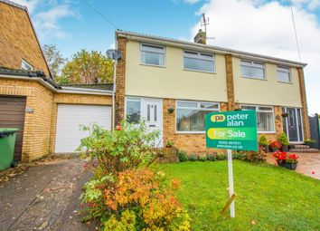Thumbnail 3 bed semi-detached house for sale in Lon Y Rhedyn, Caerphilly