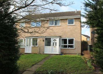 Thumbnail 3 bed semi-detached house for sale in Burcot Close, West Hallam