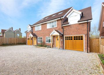 Thumbnail 4 bed semi-detached house for sale in Flint Mews, Chelmsford Road, Shenfield, Brentwood