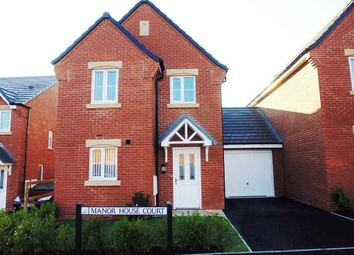 Thumbnail 3 bed semi-detached house to rent in Manor House Court, Chesterfield