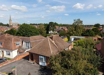 Thumbnail 3 bed detached bungalow for sale in Gibson Way, Saffron Walden, Essex
