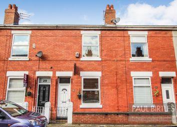 Thumbnail 2 bed terraced house for sale in Albert Avenue, Urmston