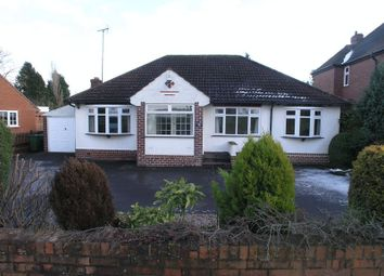Thumbnail 3 bed detached bungalow for sale in Bromsgrove Road, Hunnington, Halesowen