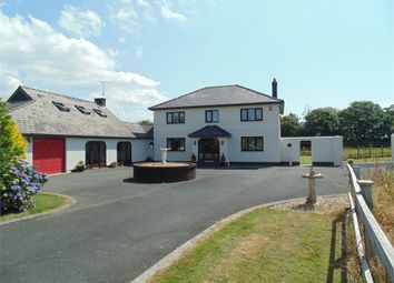 Thumbnail 6 bed detached house for sale in Bracknell Lodge, Targate Road, Freystrop, Haverfordwest, Pembrokeshire