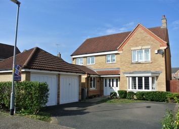 Thumbnail 4 bed detached house for sale in Rosemary Gardens, Bourne, Lincolnshire