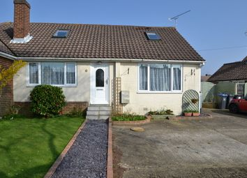 Thumbnail 3 bed semi-detached bungalow to rent in Quantock Road, Worthing