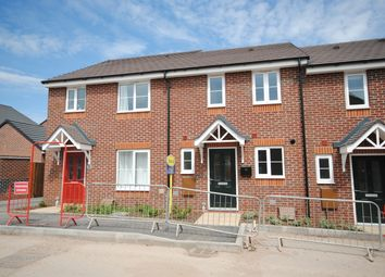 Thumbnail 2 bed terraced house to rent in Saxon Drive, Newport