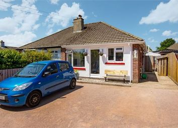 Thumbnail 2 bedroom semi-detached bungalow for sale in Swanborough Road, Milber, Newton Abbot, Devon.