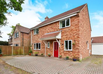 Thumbnail 5 bedroom detached house for sale in Stone Road, Toftwood, Dereham