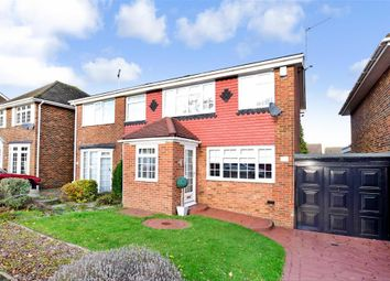 Thumbnail 3 bed semi-detached house for sale in St. Johns Way, Rochester, Kent