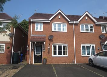 Thumbnail 3 bed semi-detached house for sale in Holm Close, Stoke-On-Trent, Staffordshire