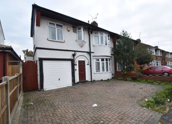 Thumbnail 4 bed semi-detached house to rent in Bancroft Road, Luton