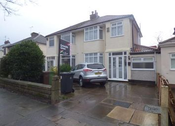 Thumbnail 3 bed semi-detached house for sale in Rosslyn Avenue, Maghull, Liverpool, Merseyside