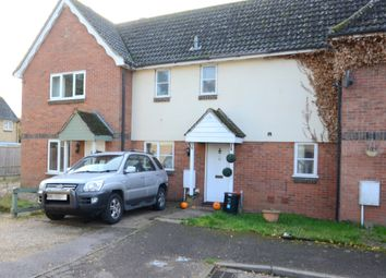 Thumbnail 2 bedroom terraced house for sale in Kestrel Close, Beck Row, Mildenhall