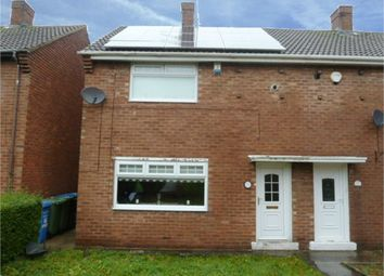 Thumbnail 2 bedroom semi-detached house for sale in Essex Crescent, Seaham, Durham
