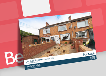 Thumbnail 2 bed terraced house for sale in Jubilee Avenue, Seaham
