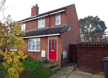 Thumbnail 1 bedroom semi-detached house to rent in Lady Way, Eaton Socon, St. Neots