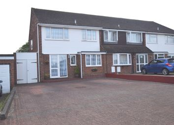 Thumbnail 5 bed semi-detached house for sale in Rochester Crescent, Hoo, Rochester, Kent