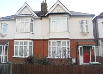 Thumbnail 1 bed flat to rent in Thornsbeach Road, Catford