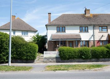 Thumbnail 3 bedroom semi-detached house for sale in Porthkerry Road, Rhoose, Barry, Vale Of Glamorgan