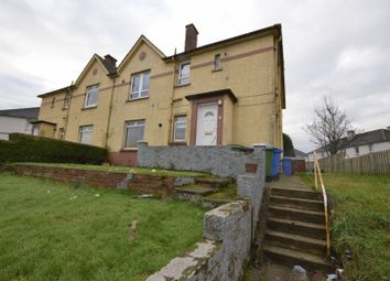 Thumbnail 3 bed flat for sale in Hartstone Road, Glasgow
