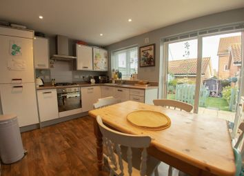 Thumbnail 3 bed semi-detached house for sale in Red Admiral Close, Costessey, Norwich