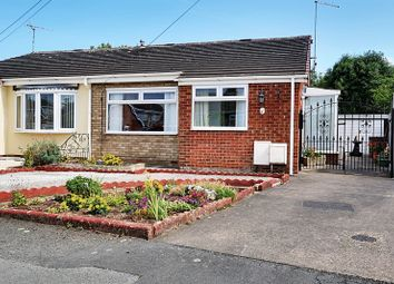 Thumbnail 2 bedroom semi-detached bungalow for sale in Fulford Crescent, Willerby, Hull