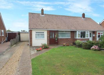 Thumbnail 2 bed semi-detached bungalow for sale in Thirlmere Crescent, Sompting, West Sussex