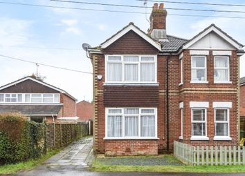3 bed semi-detached house for sale in New Road, Colden Common, Winchester SO21
