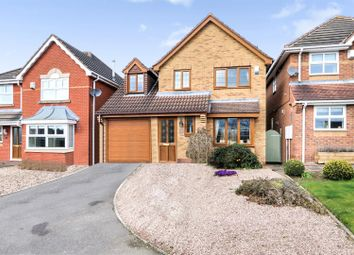 Thumbnail 3 bed detached house for sale in Thirlmere Gardens, Ashby-De-La-Zouch