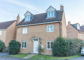 Thumbnail 4 bed detached house for sale in Dorset Close, Rugby