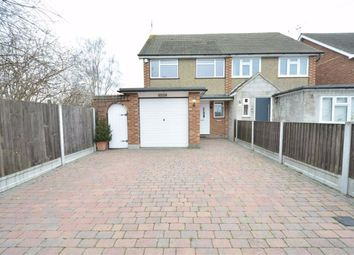 Thumbnail 3 bed semi-detached house to rent in Mill Lane, Horndon On The Hill, Essex