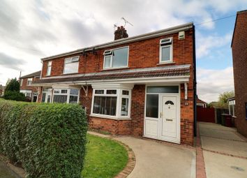Thumbnail 4 bed semi-detached house for sale in Hartshead Avenue, Scunthorpe