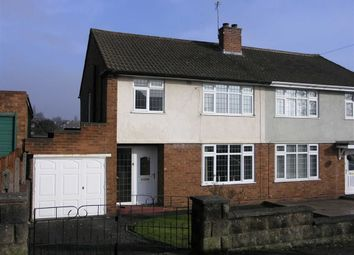 Thumbnail 3 bedroom semi-detached house for sale in Hockley Road, Bramford Estate, Coseley