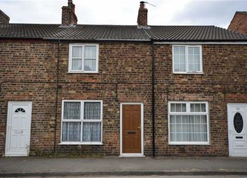 Thumbnail 2 bed terraced house for sale in Main Road, Drax, Selby