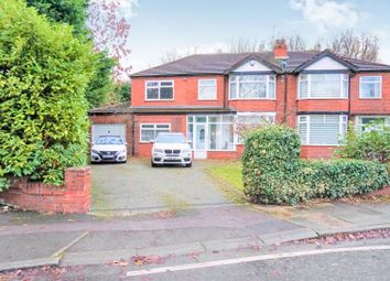 Thumbnail 4 bed semi-detached house for sale in Kingsway, Manchester