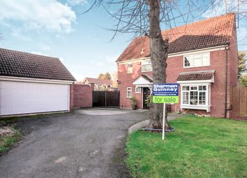 Thumbnail 4 bed detached house for sale in Delamere Close, Peterborough