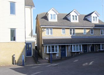 Thumbnail 3 bed end terrace house for sale in Victoria Mews, East Street, Sittingbourne