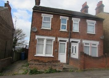Thumbnail 3 bed semi-detached house for sale in Devonshire Road, Ipswich