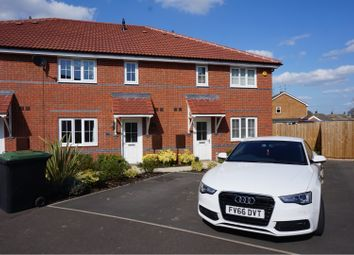 Thumbnail 2 bed terraced house to rent in Vespasian Way, North Hykeham, Lincoln