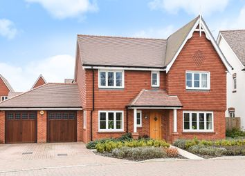 Thumbnail 4 bed detached house for sale in Braybrooke Crescent, Wokingham