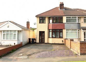 Thumbnail 3 bed semi-detached house to rent in Broad Lane South, Wolverhampton