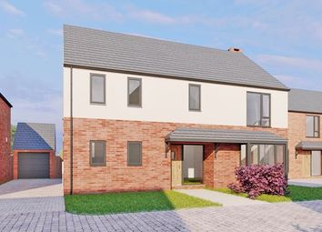 Thumbnail 4 bed detached house for sale in Plot 3, Moorcroft Farm, Crowle