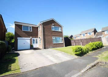 Thumbnail 4 bed detached house for sale in Peaknaze Close, Glossop