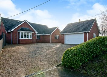 Thumbnail 4 bedroom detached bungalow for sale in Westhorpe Road, Finningham, Stowmarket