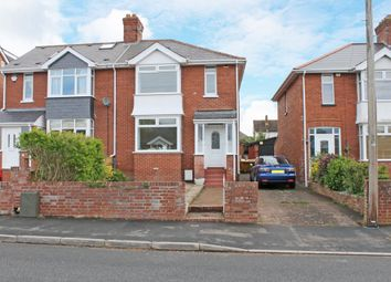 Thumbnail 3 bed semi-detached house to rent in Chard Road, Exeter