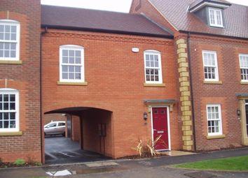 Thumbnail 2 bed terraced house to rent in Greenkeepers Road, Biddenham, Bedford