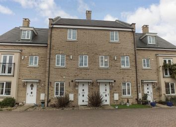 Thumbnail 4 bed town house for sale in Buttercup Avenue, Eynesbury, St. Neots
