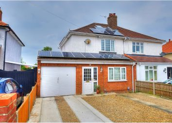 Thumbnail 3 bedroom semi-detached house for sale in Cromwell Road, Sprowston, Norwich